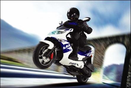 Genuine scooter blur