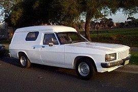 Holden panelvan