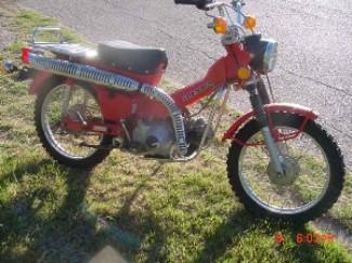 Honda cy