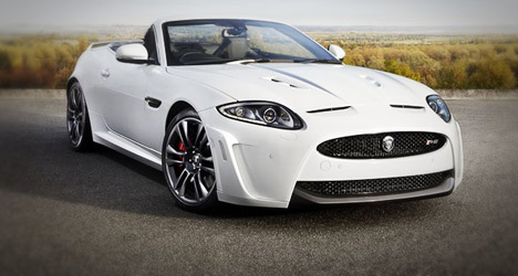 Jaguar cabriolet