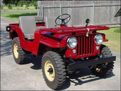 Jeep cj-3a