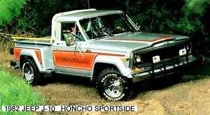 Jeep honcho