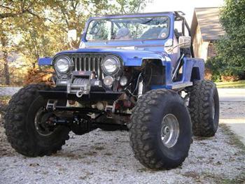 Jeep scrambler