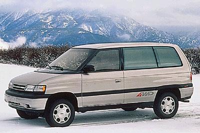 Mazda van