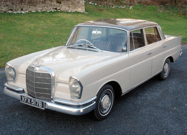 Mercedes-benz 220seb
