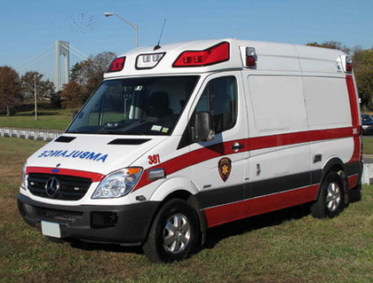 Mercedes-benz ambulans
