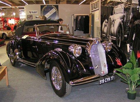 Talbot roadster