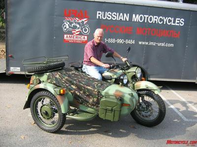 Ural sidecar)