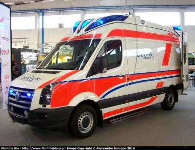 Volkswagen ambulanza