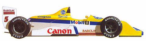 Williams fw12