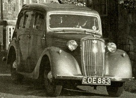 Wolseley car