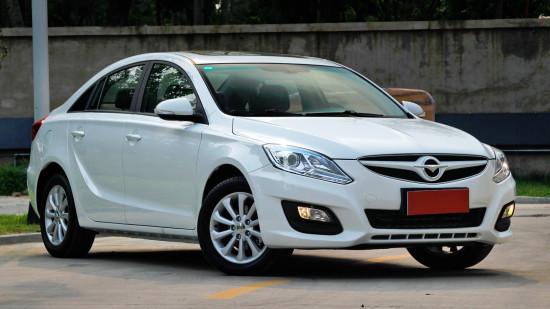 Mid-size Chinese sedan Haima M6