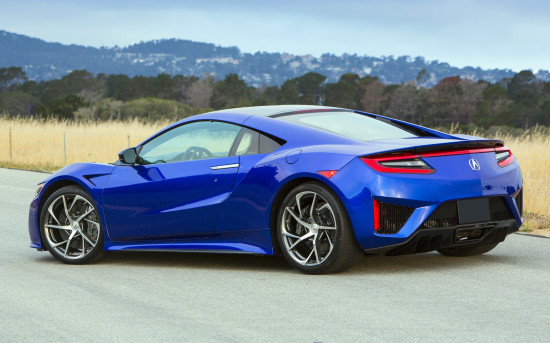 Control Electronics Of The Hybrid Sports Car Includes Four Modes Functioning Quiet Sport And Track In First Mode Nsx Moves With Pure