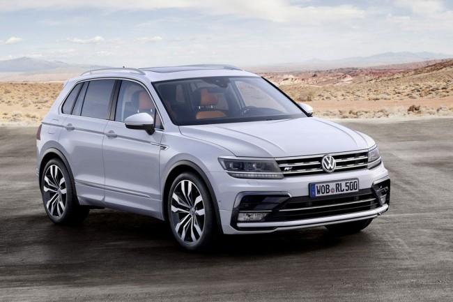 Volkswagen Tiguan (2016-2017)