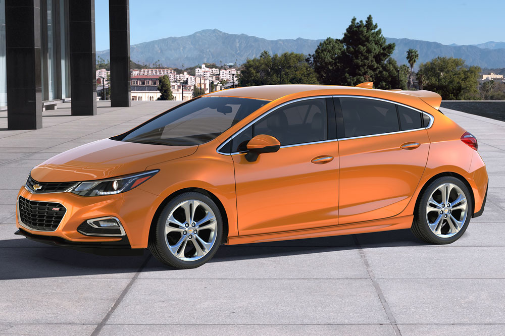 Chevrolet Cruze Hatchback (2016)