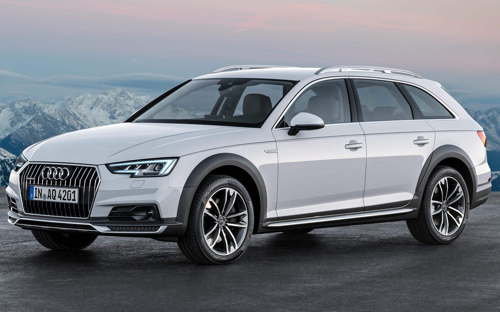 Audi A4 (B9) allroad Quattro (2016)