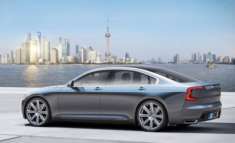 Volvo s90 (2016) pictures & photos, information of