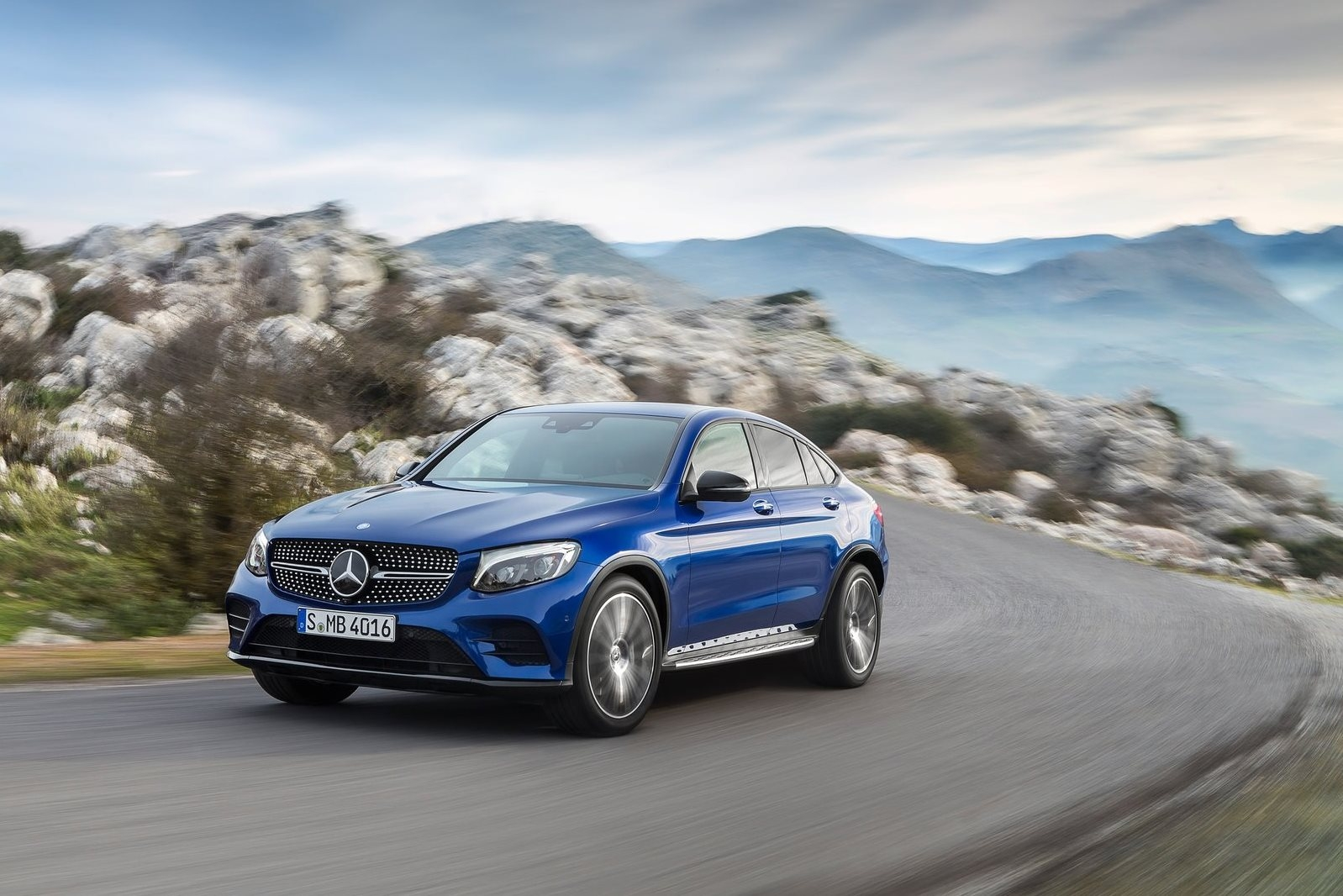 Mercedes-Benz GLC Coupe (2016)
