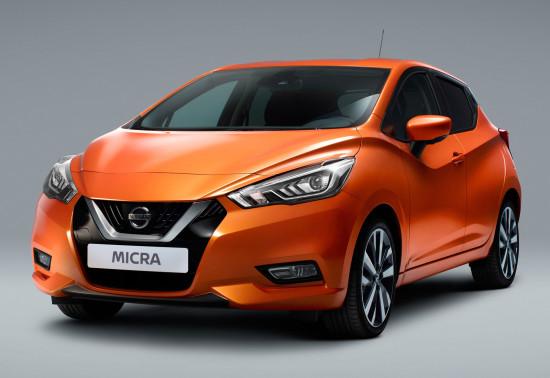Nissan Micra 5 (2016-2017)