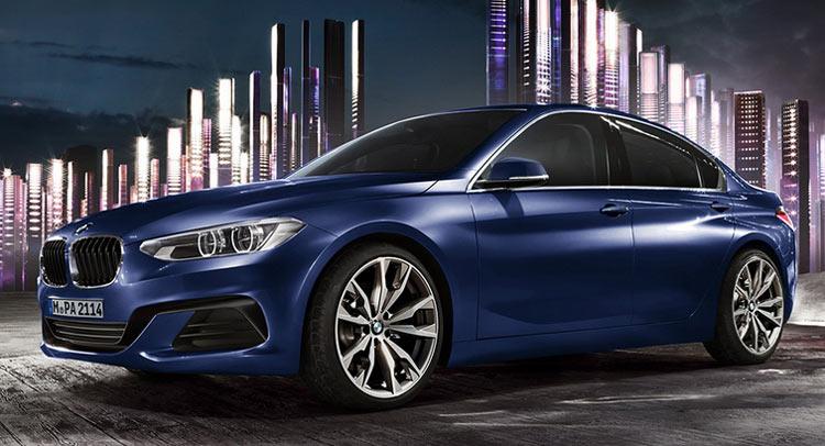 BMW 1 series sedan (2017)