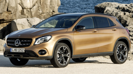 Mercedes-Benz GLA (2017-2018)