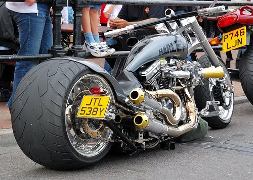 Fat Bob.  Poole Bike Night