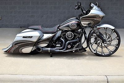 eBay: 2015 Harley-Davidson Touring 2015 ROAD GLIDE CUSTOM *1 OF A KIND* 26″ WHEE…
