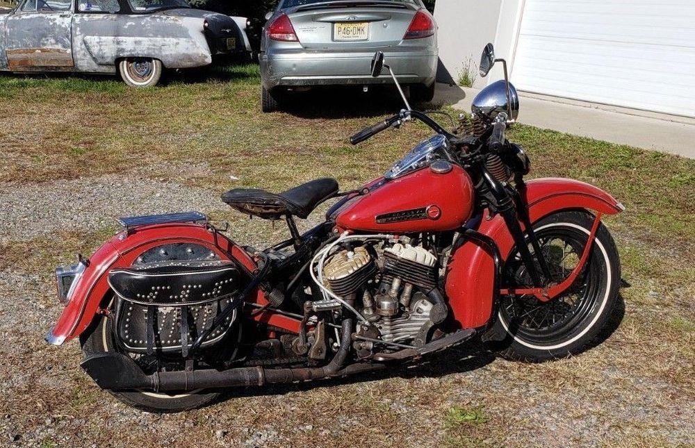 eBay: 1948 Harley-Davidson WL 1948 Harley Davidson WL 45 FLAT HEAD PAN HEAD KNUC…