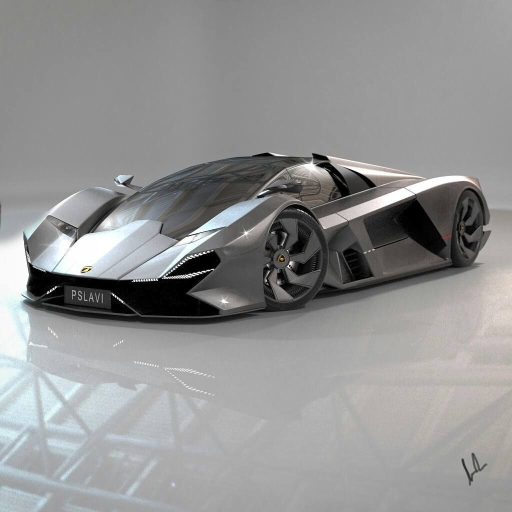 "Slav Popovski on Instagram: ""Swipe to see more.. Continued with a slight redesign on my Lamborghini concept. Modelled different wheels and several other changes. All…"""