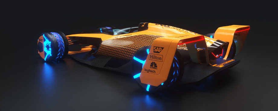 McLaren reveals vision for grand prix racing in 2050