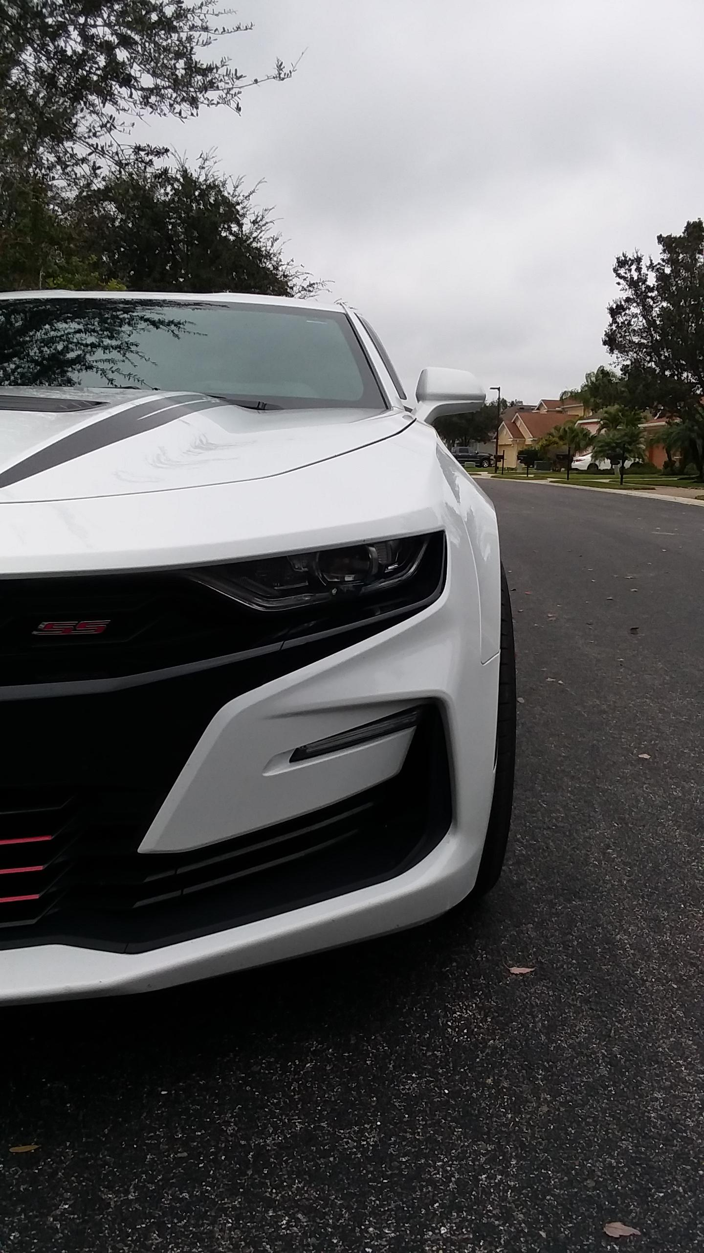 My friends neighbors camaro