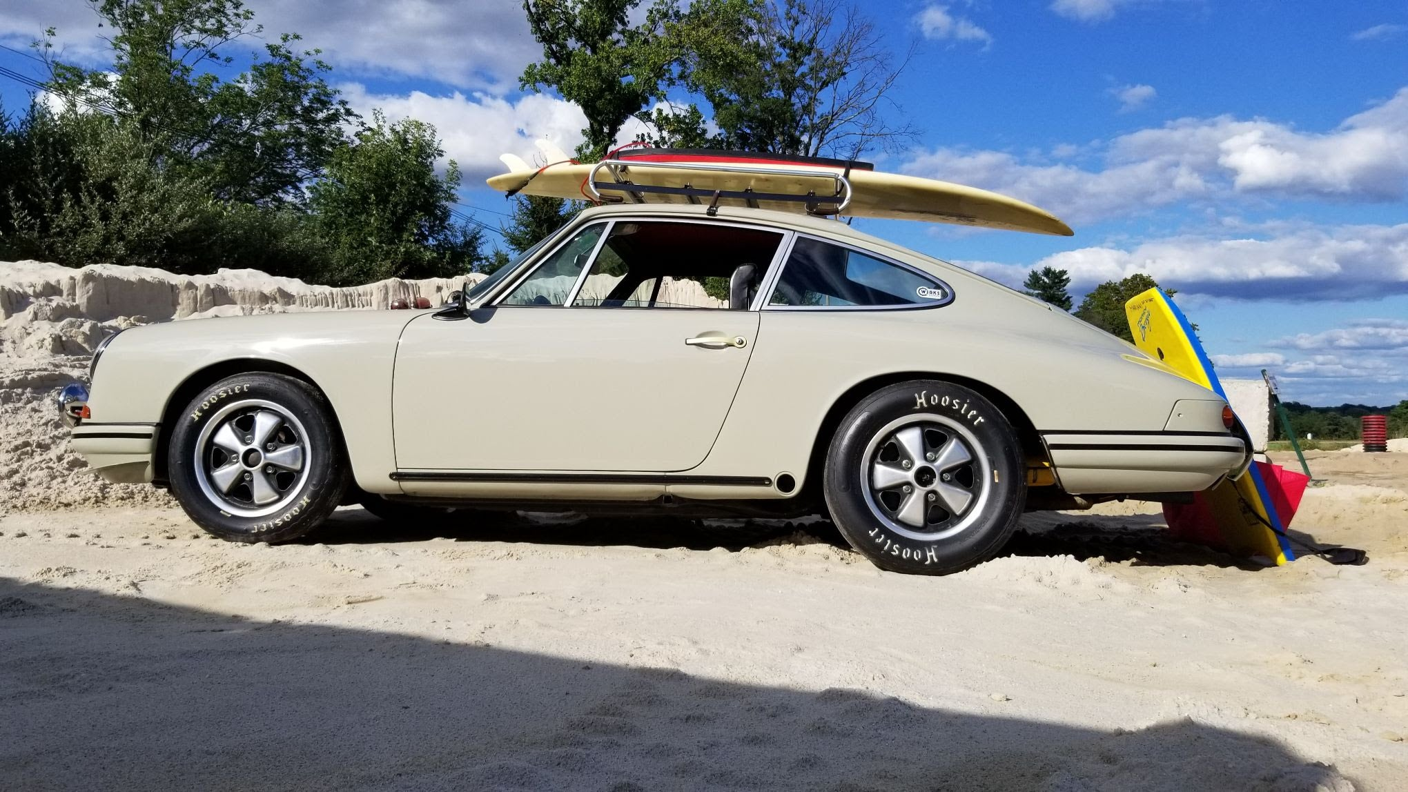 Porsche 911 with the rare California Surf Option.