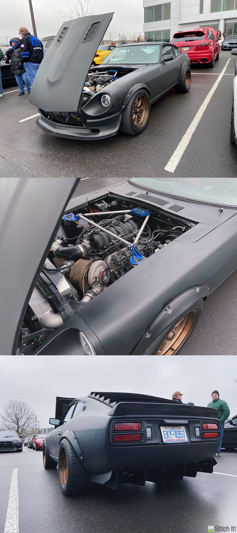 Turbo LS Swapped 240z