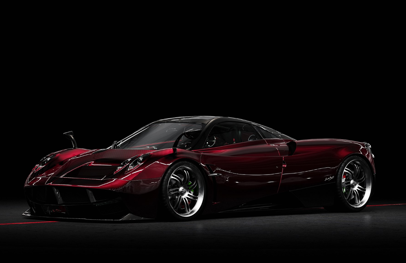 Wine red Pagani Huayra