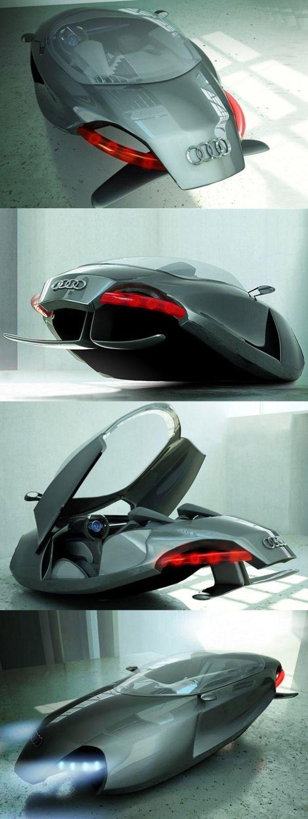 O que a Audi tem a ver com Os Jetsons?? O Audi Shark é projeto vencedor do conc…