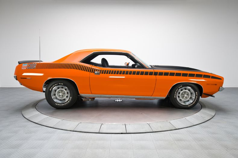 1970 Plymouth 'Cuda AAR Orange