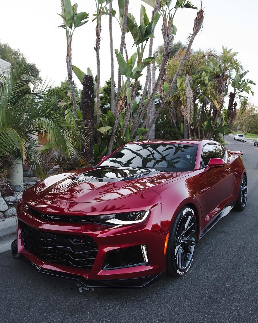 2018 Cherry Red Chevrolet Camaro Zl1