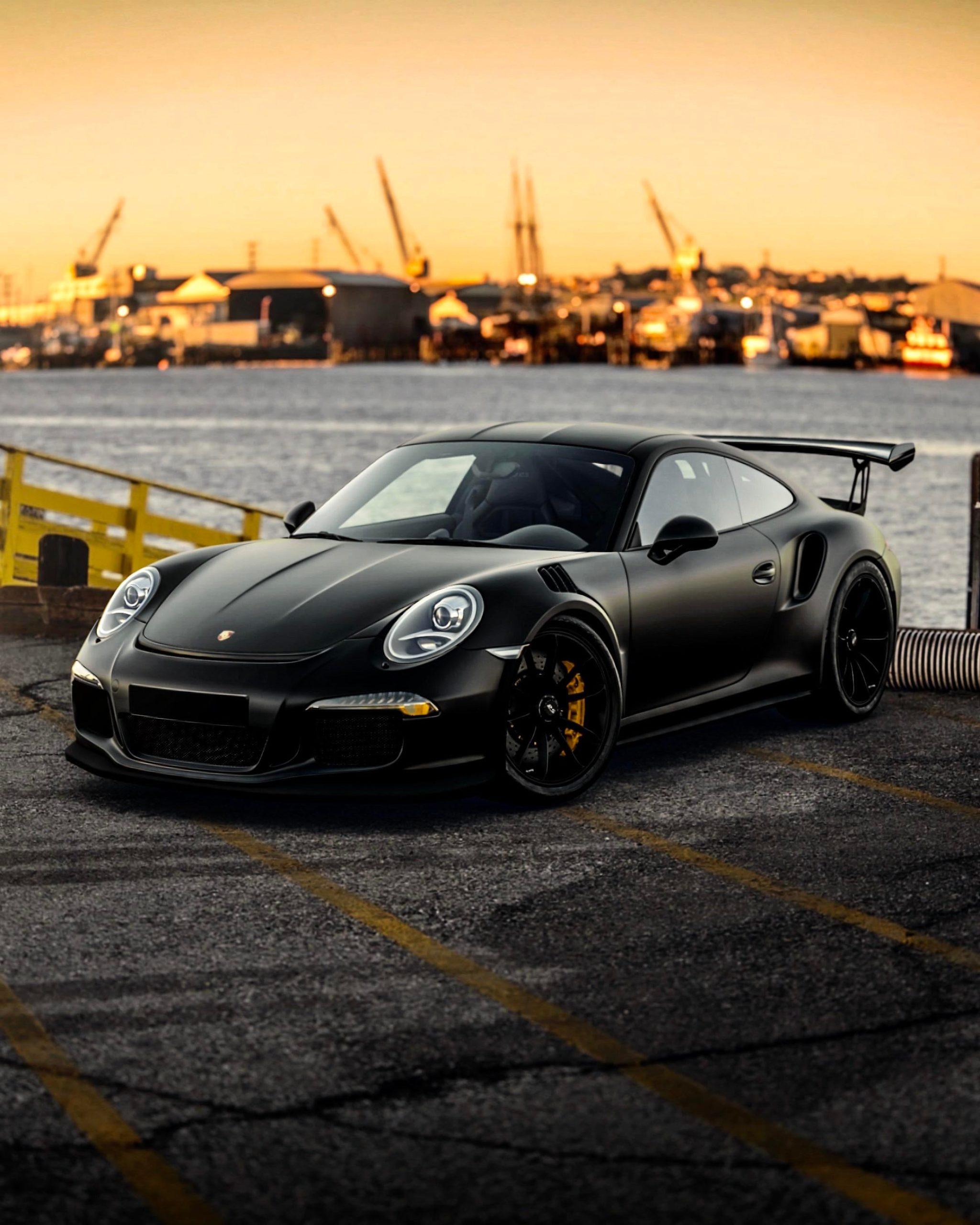Gt3 RS Matte black