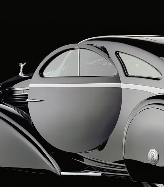 The Round Door Rolls – 1925 Rolls-Royce Phantom I Jonckheere Coupe