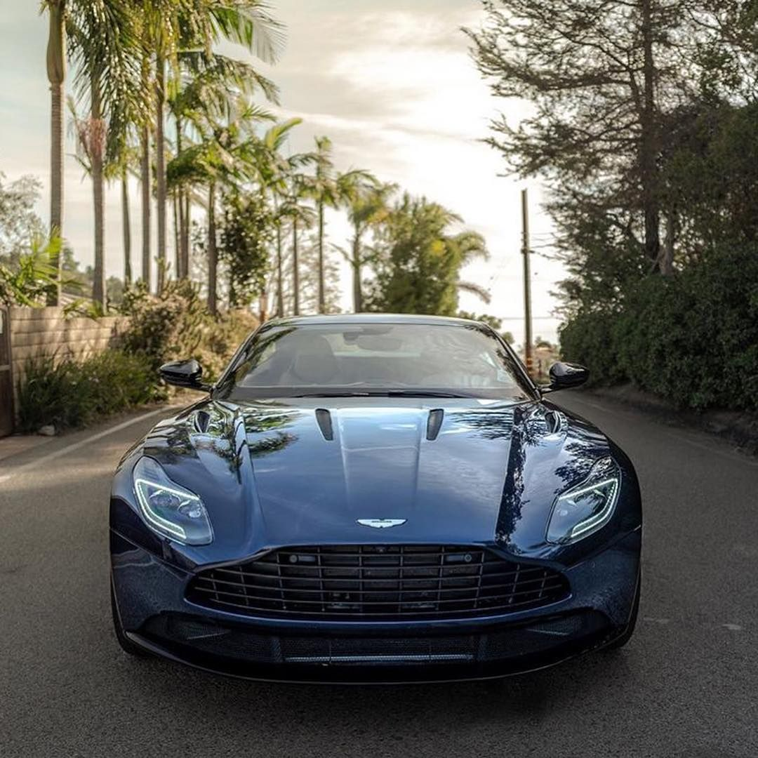 "Aston Martin on Instagram: ""Nice Photos of the DB11 AMR ? Photos by: @drivewithdray  Check out his IG! #astonmartin #db11 #amr #blue #british #car"""