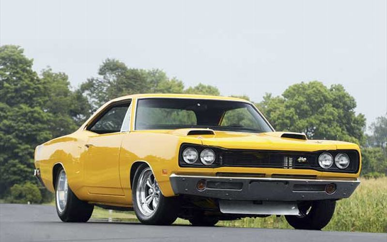 1969 Dodge Super Bee Front Passengers Side View