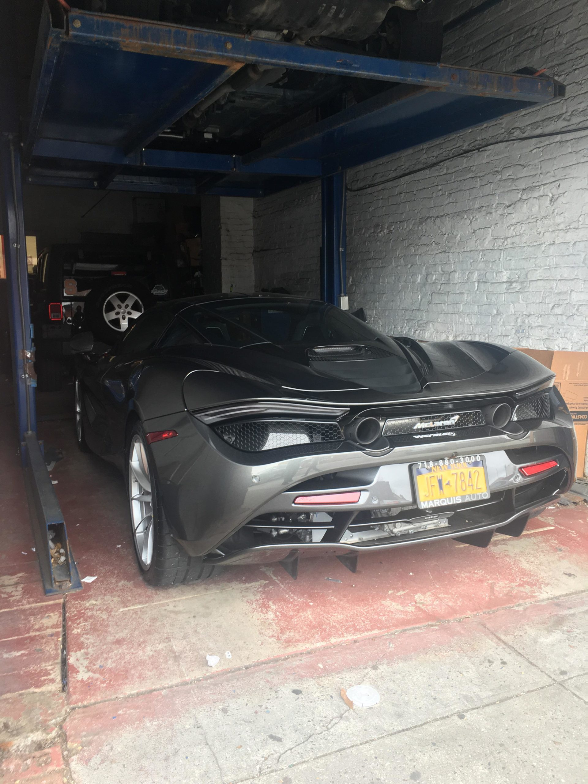Spotted this McLaren 720S in Brooklyn, New York.