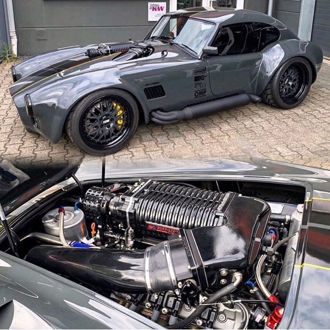 """Speed Society on Instagram: """"Cobra coupe with a @whipplesuperchargers supercharged LS3 making 1200 Horsepower? ?we can dig it!"""""""