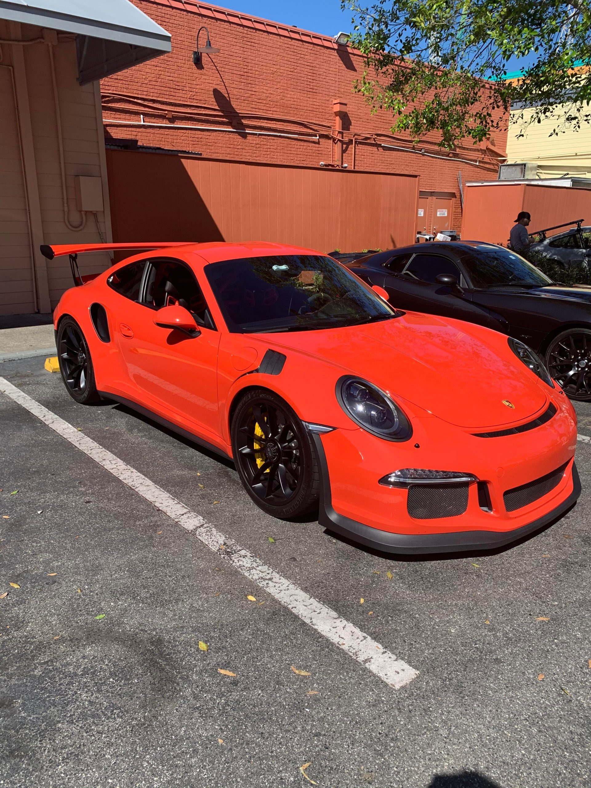 Pretty Lava Orange GT3RS