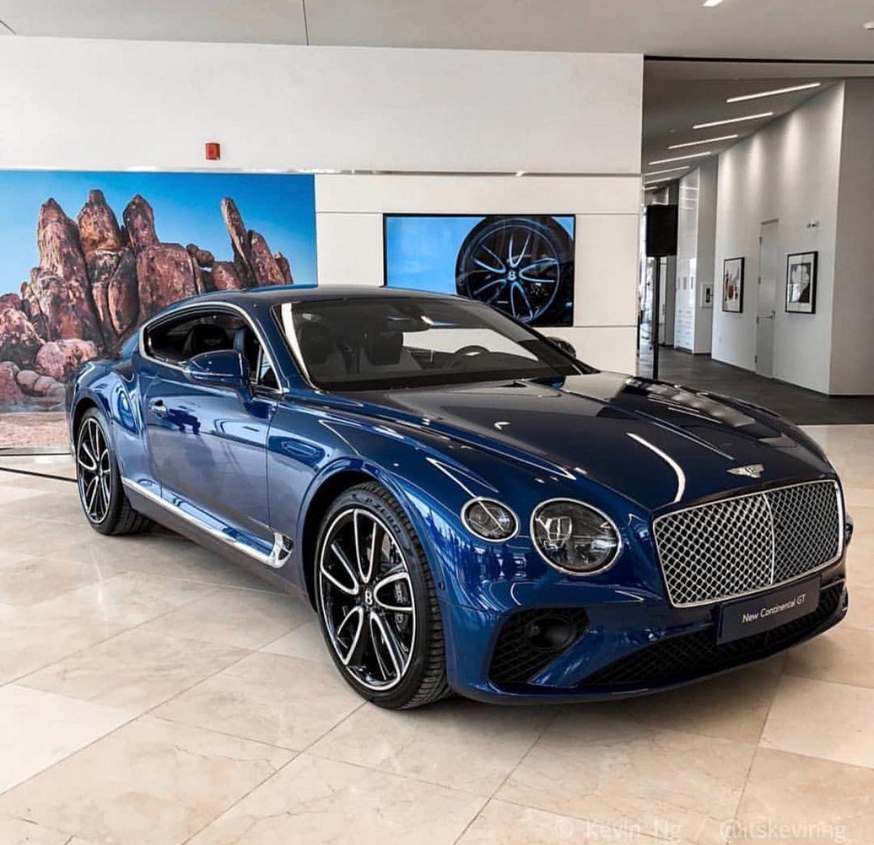 Bentley Continental GT 2019, superbe…