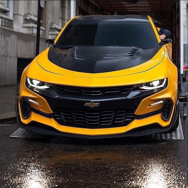Chevrolet Camaro Bumblebee Transformers The Last Knight