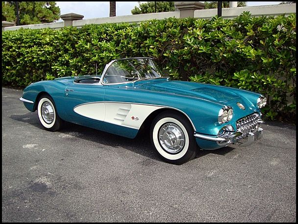 1958 Chevrolet Corvette Convertible | S93 | Dallas 2012 | Mecum Auctions