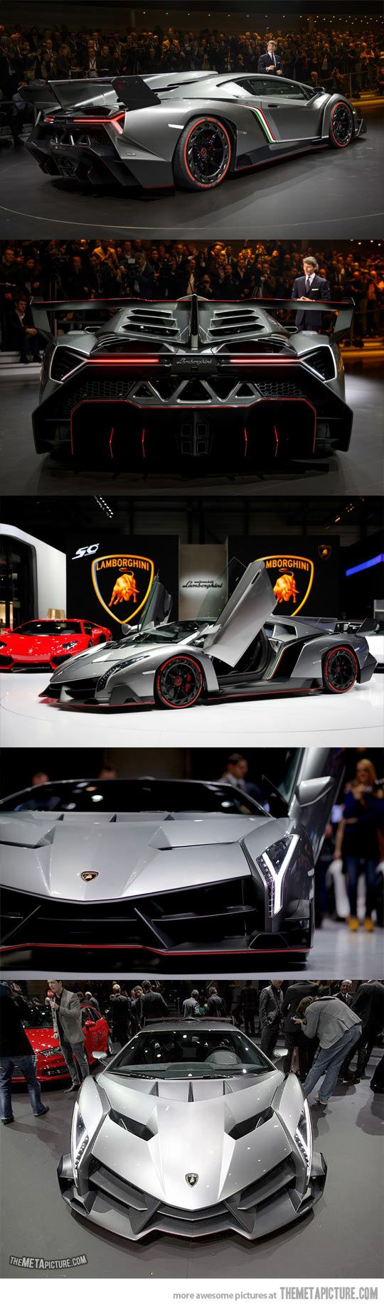 Lamborghini Veneno, only 3 were made in the world…