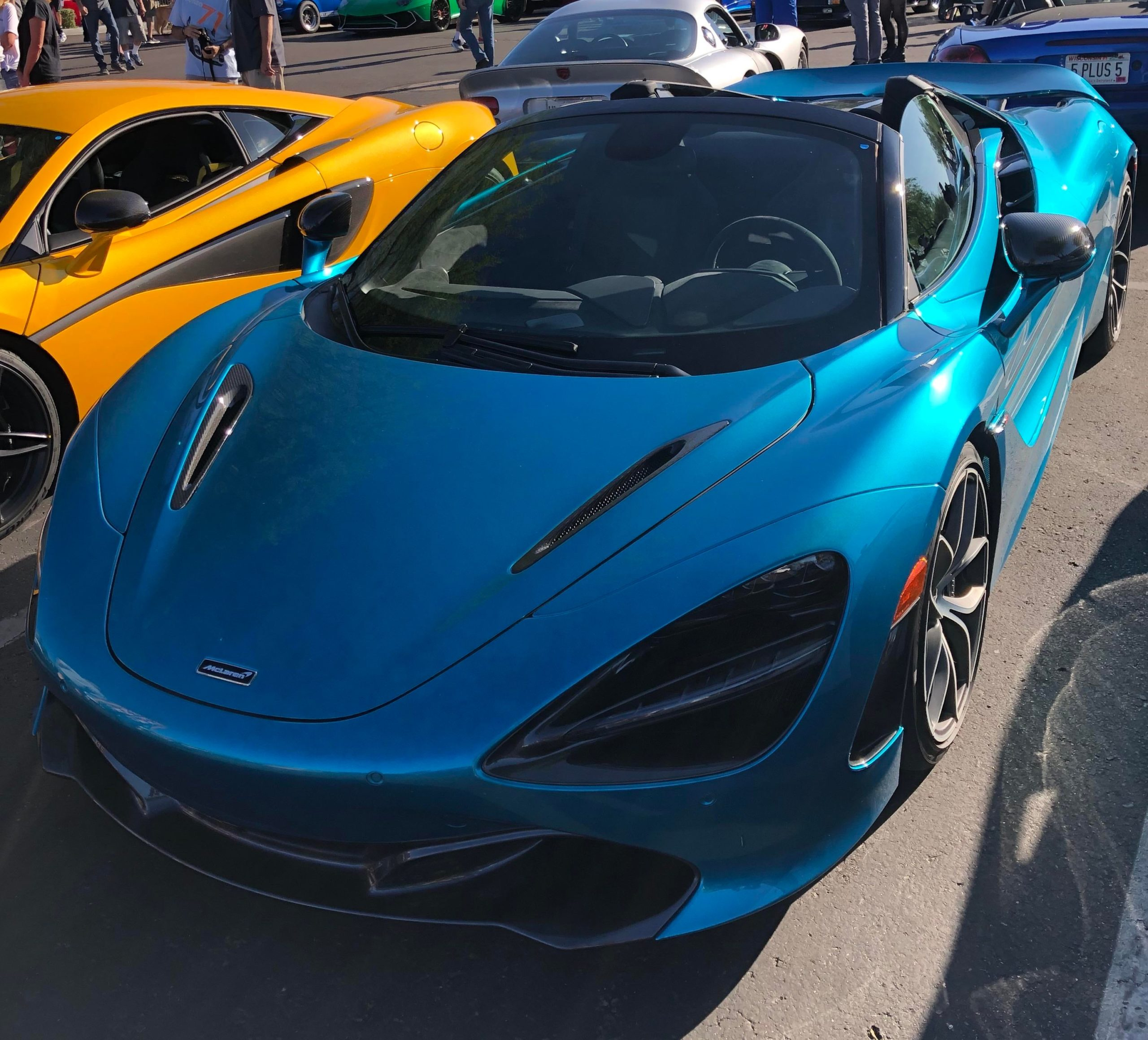 Stunning McLaren 720s at a car show