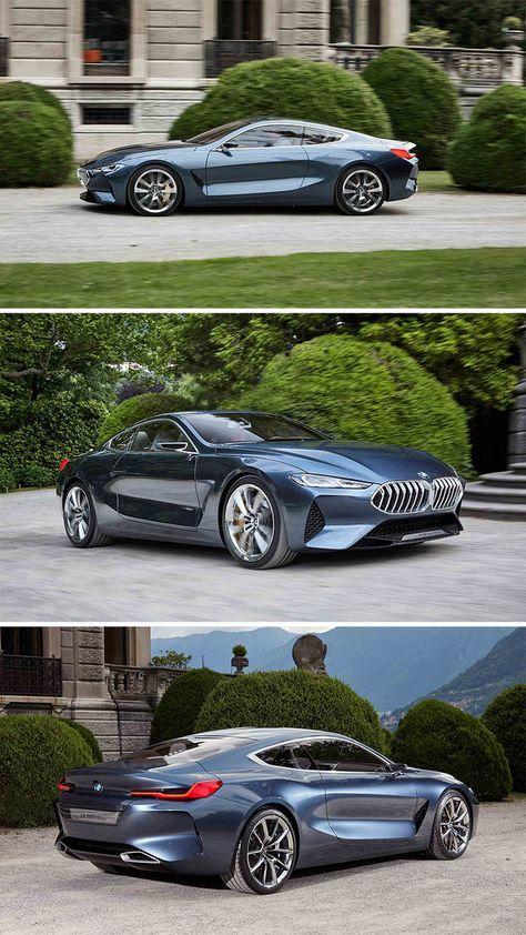 BMW SERIE 8 présentée à la Villa d' Erbe. shortly after the 8 Series Concept …